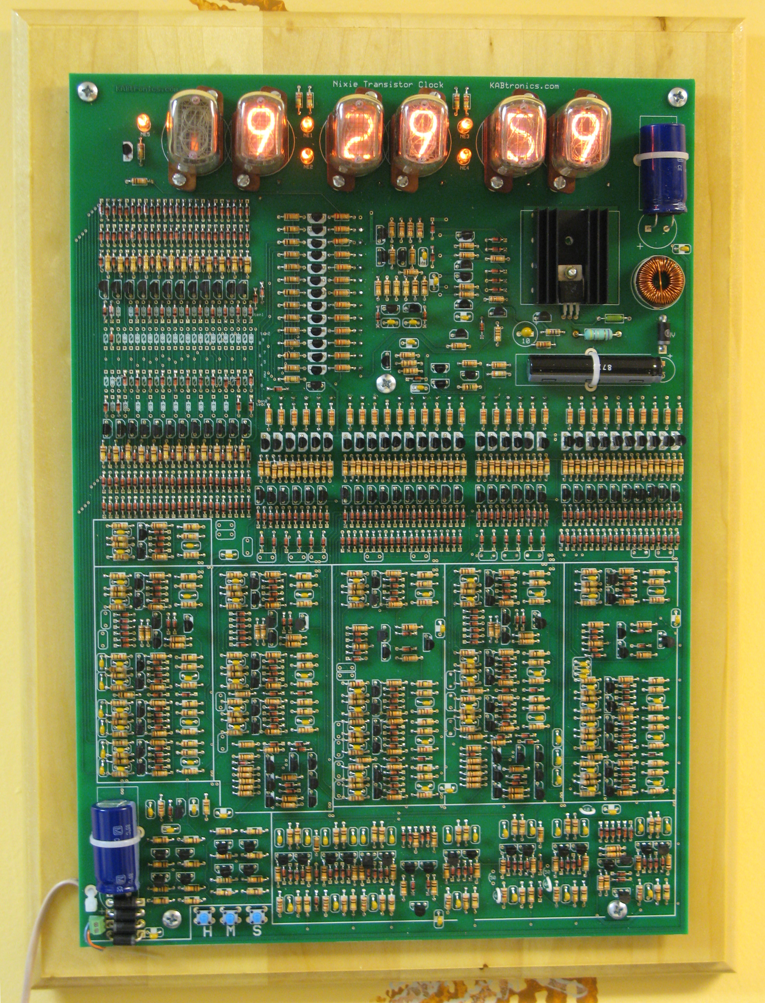 Click Here For High Resolution Picture This Is A Nixie Tube Display Version Of The